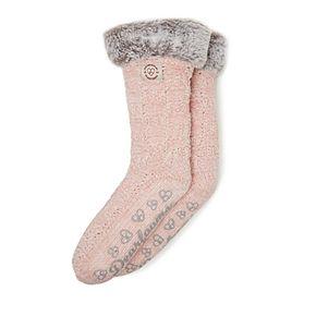 Women's Dearfoams Blizzard Chenille Knit Slipper Socks