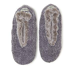 Women's Dearfoams Toasty Chenille Knit Slipper Socks