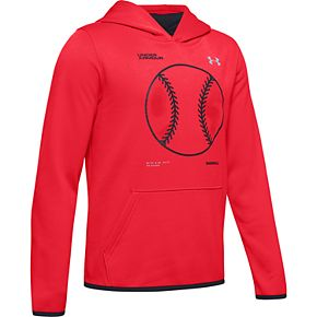 Boys 8-16 Under Armour Armour Fleece® Baseball Logo Hoodie