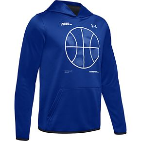 Boys 8-20 Under Armour Fleece Basketball Logo Hoodie