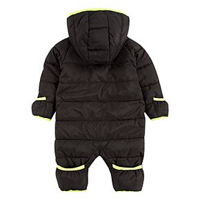 Baby Boy Nike Hooded Puffer Snowsuit Coverall