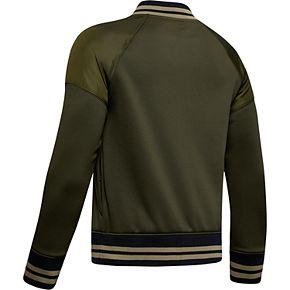 Boys 8-20 Under Armour Armour Fleece® Bomber Jacket