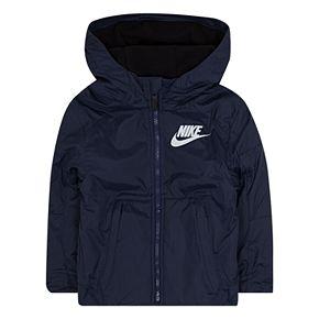 Toddler Boy Nike Ripstop Hooded Lightweight Jacket