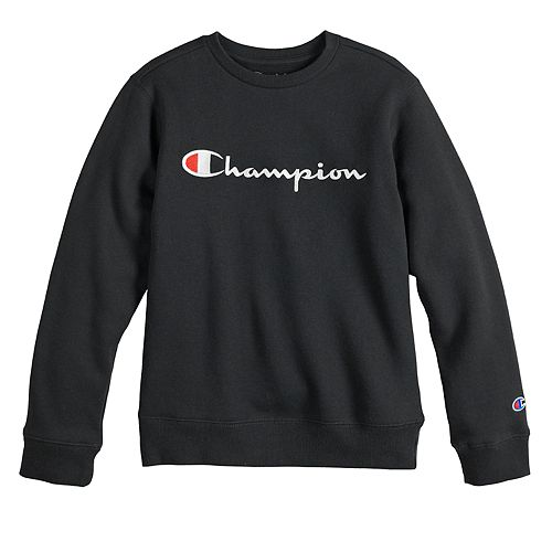 Boys 8 20 Champion Heritage Logo Sweatshirt by Champion