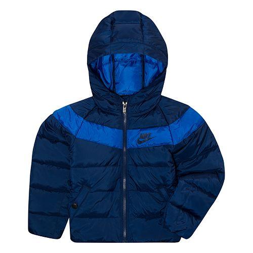 Toddler Boy Nike Puffer Full Zip Jacket