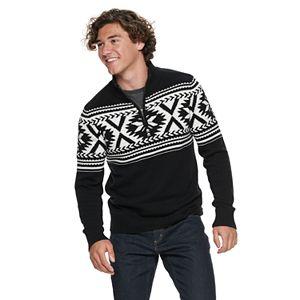 Men's Urban Pipeline? Quarter-Zip Pullover Sweater