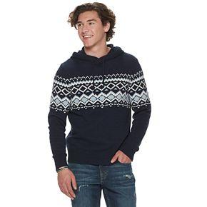 Men's Urban Pipeline? Knit Sweater Hoodie
