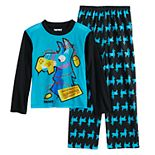 Boys 8-16 Fortnite Llama 2-Piece Pajama Set
