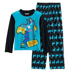 Boys 8-16 Fortnite Llama 2-Piece Pajama Set