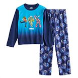 Boys 8-16 Fortnite Team Dance 2-Piece Pajama Set