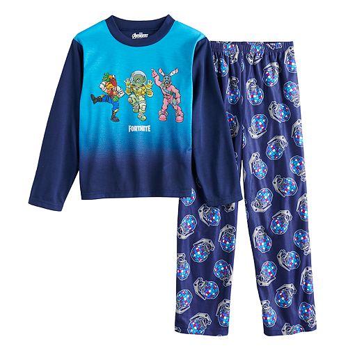 Boys 8-16 Fortnite Team Dance 2-Piece Pajama Set
