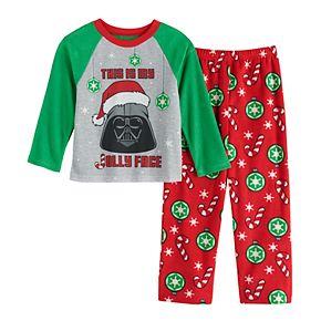 Boys 6-12 Star Wars Jolly 2-Piece Pajama Set