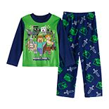 Boys 6-12 Minecraft The Hunters 2-Piece Pajama Set
