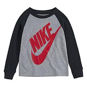 Toddler Boy Nike Long-Sleeve Graphic T-Shirt