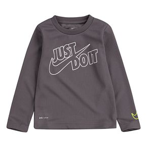 Toddler Boy 2T-4T Nike Dri-FIT Thermal Long Sleeve Graphic T-Shirt