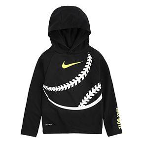 Toddler Boy 2T-4T Nike Dri-FIT Thermal Baseball Pullover Hoodie