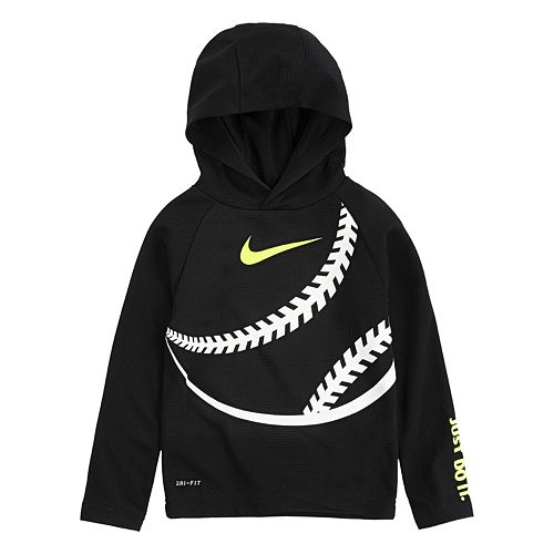 Toddler Boy 2T-4T Nike Dri-FIT Thermal Baseball Pullover Hoodie