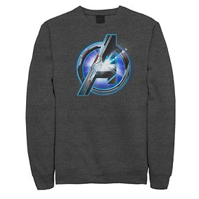 Men's Marvel Avengers Endgame Tech Logo Sweatshirt