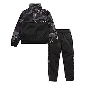 Toddler Boy Nike 2 Piece Zip Jacket and Jogger Pants Track Set