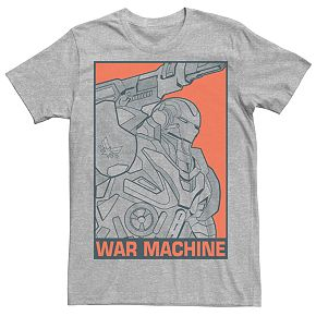 Men's Marvel Avegers Endgame War Machine Tee