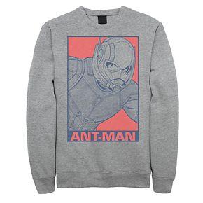 Mens Marvel Avengers Endgame Pop Ant-Man Poster Sweatshirt