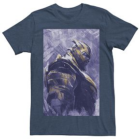Mens Marvel Avengers Endgame Thanos Paint Tee