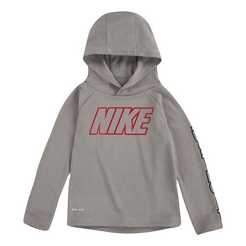 Toddler Boy Nike Dri FIT Thermal Pullover Hoodie