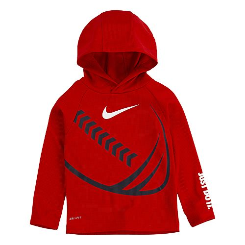 Toddler Boy 2T-4T Nike Dri-FIT Thermal Football Pullover Hoodie