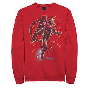 Men's Marvel Avengers Endgame Iron-Man Fleece