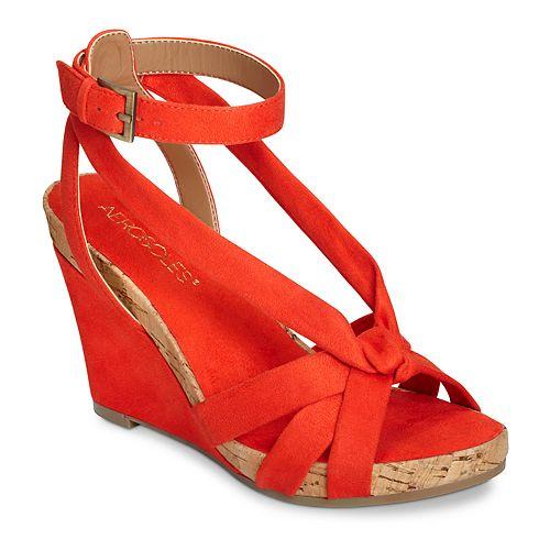 A2 By Aerosoles Fashion Blush Women's Wedge Sandals by Aerosoles