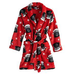 Boys 6-12 Star Wars Darth Vader Jolly Me Robe