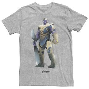 Men's Marvel Avengers Endgame Thanos Paint Tee