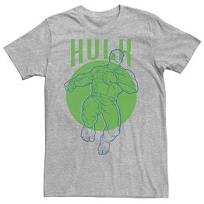 Men's Marvel Avengers Endgame Pop Hulk Circle Tee