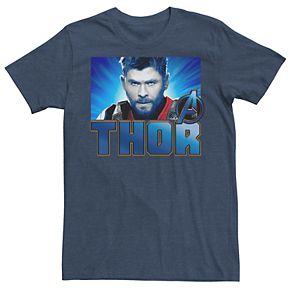 Men's Marvel Avengers Endgame Thor Gaze Tee