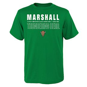 Boys 4-20 Marshall Thundering Herd Launch Tee