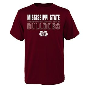Boys 4-20 Mississippi State Bulldogs Launch Tee