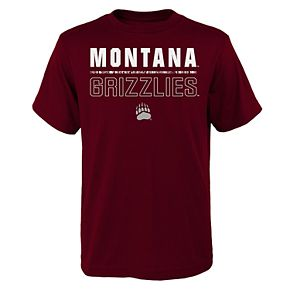 Boys 4-20 Montana Grizzlies Launch Tee