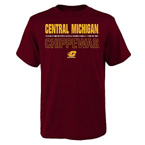 Boys 4-20 Central Michigan Chippewas Launch Tee