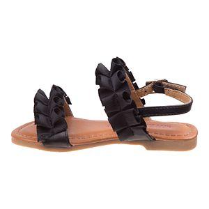 Laura Ashley Lifestyle Toddler Girls' Flower Sandals