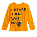 Boys 4-12 Jumping Beans® Thanksgiving Saying Tee