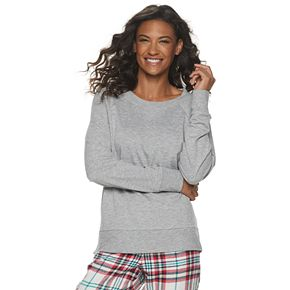 Women's SONOMA Goods for Life? Crewneck Pajama Sweatshirt