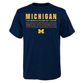Boys 4-20 Michigan Wolverines Launch Tee