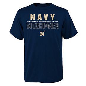 Boys 4-20 Navy Midshipmen Launch Tee
