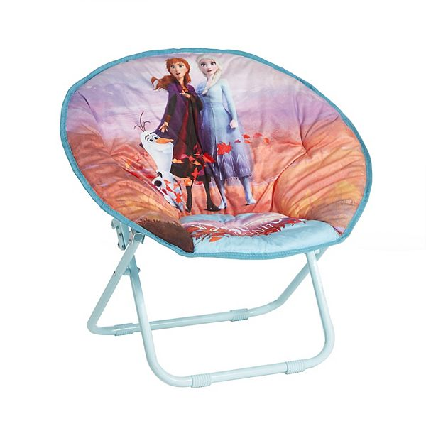 Disney S Frozen 2 Anna Elsa And Olaf Collapsible Saucer Chair