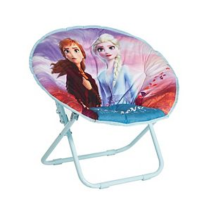 Disney's Frozen 2 Anna and Elsa Collapsible Saucer Chair