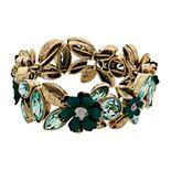 Women's Simply Vera Vera Wang Flower Cuff Bracelet