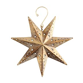 Scott Living Luxe Cutout Star Christmas Ornament