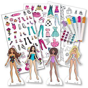Melissa Doug Fashion Design Activity Kit