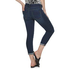 Petite Apt. 9 Tummy Control Denim Ankle Jeans