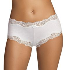 5601a8fb66f Maidenform Scalloped Lace-Trim Modal Cheeky Hipster 40837 - Women s
